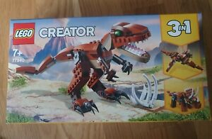 LEGO Creator 77940 Brown Mighty Dinosaur 3 in 1 - new