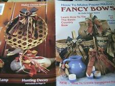 How To Make Paper Ribbon Fancy Bows Craft Book With 21 Projects