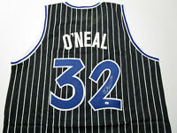 SHAQUILLE O'NEAL / AUTOGRAPHED ORLANDO MAGIC CUSTOM BASKETBALL JERSEY / COA