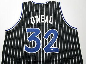 SHAQUILLE O'NEAL / AUTOGRAPHED ORLANDO MAGIC CUSTOM BASKETBALL JERSEY / COA
