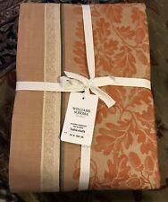 "William Sonoma Acorn Harvest Jacquard Tablecloth, 70"" X 90"", New W/ $149.95 Tag"