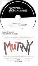 PAUL HASLINGER Halt And Catch Fire Original Soundtrack 2017 UK 23-trk promo CD