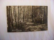 Real Photo Postcard RPPC Ridge Point Park De Pere Wisconsin WI 1910 #2412