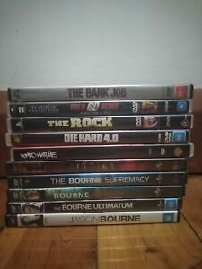 Action DVDs - Used - Good condition - Region 4 - $5 each *FREE POSTAGE*