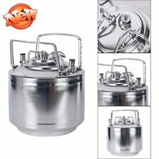 Beer Keg 1.6 Gallon Soda Tea CO2 Fridge Ball Lock Brew Travel Kegerator Cool NEW