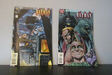 BATMAN CHRONICLES # 1 & 3 (Huntress app, JULY 1995) vfn