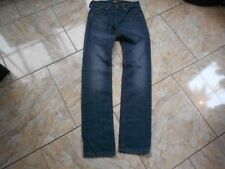H1428 LEE POWELL Jeans W29 Dunkelblau ohne Muster