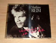 CD Maxi-Single - Matthias Reim - Verdammt ich lieb Dich