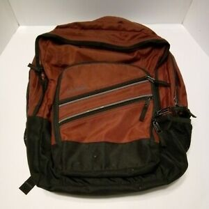 LL Bean Super Deluxe Large Backpack Book Bag Pack College High School