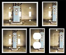 VINTAGE GAS GASOLINE PUMP #3 LIGHT SWITCH COVER PLATE