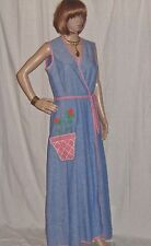Vintage Wrap Dress Maxi Concepts by Swirl Patriotic Colors Festival Garden Party