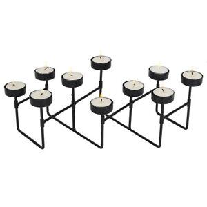 EXPANDABLE TEA LIGHT CANDLE HOLDER - 10 FREE Tea Lights Included!