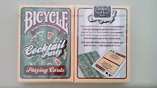 CARTE DA GIOCO BICYCLE COCKTAIL PARTY,poker size
