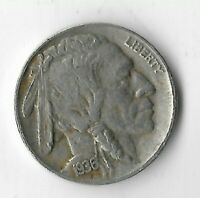 Rare Antique 1936 US Buffalo Indian Nickel Collection Great Depression Coin E22