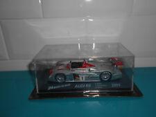 24.09.17.1 Audi R8 2001 biela kristensen pirro 24 heures du Mans IXO altaya 1/43