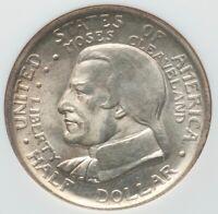 1936 Cleveland Centennial Silver Commemorative Half Dollar PCGS MS65 LUSTROUSity