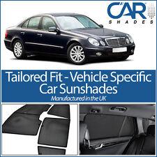 Mercedes E Class 4dr 02-08 UV CAR SHADES WINDOW SUN BLINDS PRIVACY GLASS TINT