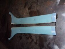 81-93 DODGE PICKUP TRUCK LIGHT BLUE A PILLAR TRIM COVERS OEM LEFT RIGHT PAIR