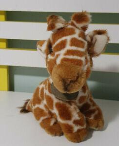 Yomiko Classics Giraffe Stuffed Toy 21cm BEANS IN BUM RUSS BERRIE