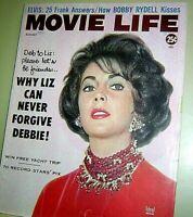 MOVIE LIFE MAGAZINE Aug 1960 GLENN FORD Kim Novak ROGER SMITH Gale Storm