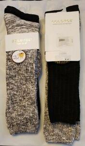NWT 2 Gold Toe Women's 2 Pack Boyfriend Slouch Boot Socks Multi Shoe 6-9