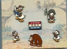 Disney Catalog Good Scouts Nephews Donald Duck Boy Scout Master Boxed Pin Set
