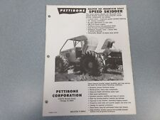 Rare Pettibone 501 Mountain Goat Speed Skidder Sales Sheet