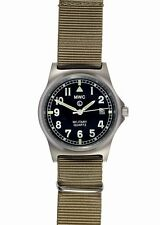 MWC G10 LM Military Watch Desert Strap 50M Date Water Resistance Quartz NEW