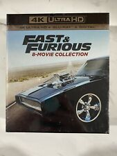Fast & Furious: 8-Movie Collection 4K Ultra HD Blu-Ray, Digital Brand New Sealed
