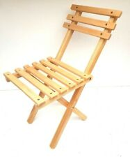 Wooden folding picnic chair , kids stool,  small folding chair