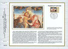 FEUILLET CEF / DOCUMENT PHILATELIQUE / FONDATION D'AJACCIO 1992 AJACCIO