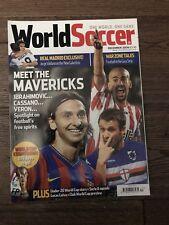 World Soccer Magazine - December 2009 (Ibrahimovic, Cassano, Veron, Real Madrid)