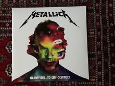Metallica Hardwired... To Self-Destruct Green Vinyl 2xLP Rare!!