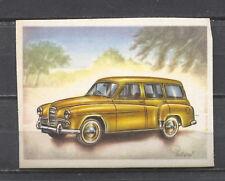 Humber Hawk Estate Car 1956 Vintage 1950s Dutch Trading Card No. 60
