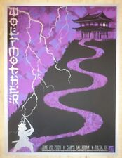 2007 Wolfmother - Tulsa Silkscreen Concert Poster S/N by Todd Slater