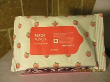 Tony Moly Peach Punch Cleansing Tissue Wipes (8 wipes) travel size brand new!