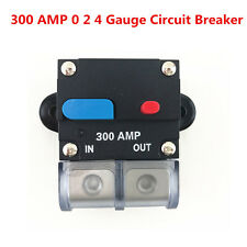 12V Universal 300 Amp 0 2 4 Gauge Auto Car Audio Inline Power Circuit Breaker