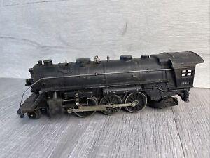 Lionel O Gauge Steam Engine Locomotive 1666 027 For Parts or Restore Train