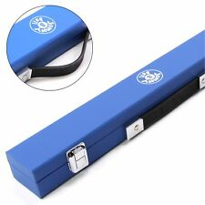 Jonny 8 Ball MEDIUM Kids Hard Cue Case for 2pc 48 Inch Junior Cues - BLUE