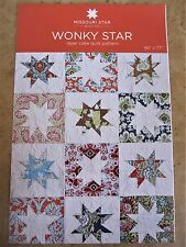 Wonky Star Quilt Pattern for Layer Cakes New by MSQC