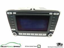 VW EOS / GOLF MK5 RADIO STEREO SAT NAV HEAD UNIT 1K0035198C 2006-2008 (+CODE)