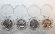 4 Airtite Direct Fit Coin Holder Capsules A21-Liberty Washington Buffalo Nickels