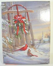 Springbok Puzzle Winter Red Birds 500 Pieces 2006