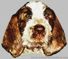 Large Embroidered Zippered Tote - Spinone Italiano Dle2525
