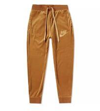 Nike Sportswear Plush Velour Pants AH3388-722 ELEMENTAL GOLD Mens New Sz L