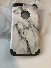 ULAK Marble Case for Apple iPhone /6S/6 Plus Rubber Protect Shockproof Cover