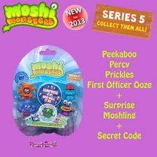 Moshi Monsters Moshlings Series 5 Figure Pack 2 - inc Peekaboo Percy Prickles