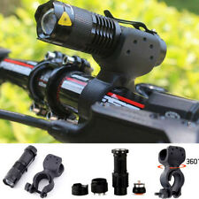 5000lm CREE T6 LED Cycling Bike Head Light Lamp 18650 Flashlight 360° Mount Clip