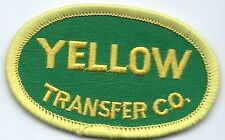 Yellow Transfer Co truck driver patch 1-3/4 X 2-3/4 #2271