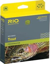 Rio Avid Trout New Wf-4-F #4 Weight Forward Floating Fly Line Yellow